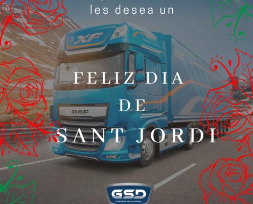 Feliz día de Sant Jordi